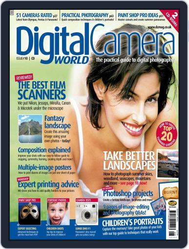 Digital Camera World July 3rd, 2003 Digital Back Issue Cover