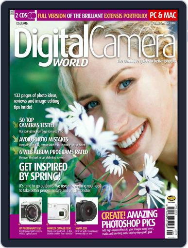 Digital Camera World March 7th, 2003 Digital Back Issue Cover