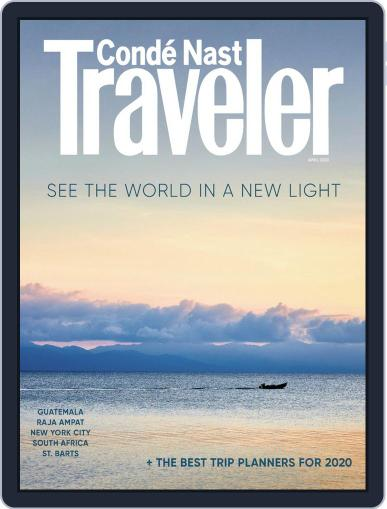 Conde Nast Traveler (Digital) April 1st, 2020 Issue Cover