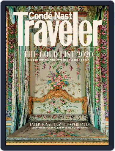 Conde Nast Traveler (Digital) January 1st, 2020 Issue Cover