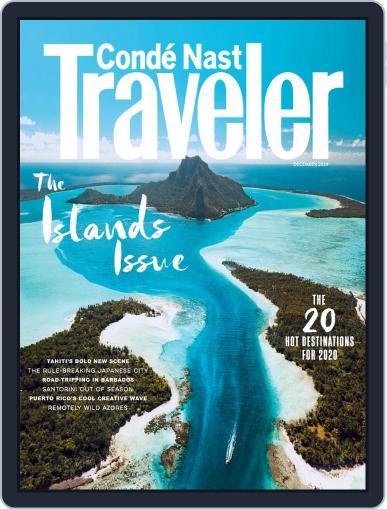 Conde Nast Traveler (Digital) December 1st, 2019 Issue Cover
