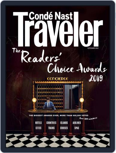Conde Nast Traveler (Digital) November 1st, 2019 Issue Cover
