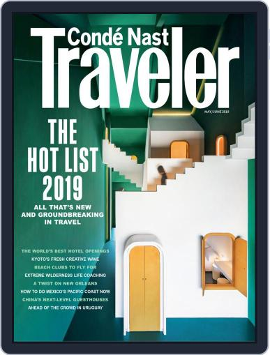 Conde Nast Traveler May 1st, 2019 Digital Back Issue Cover
