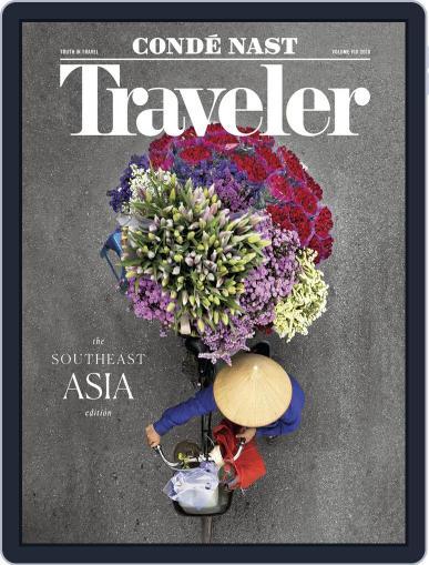 Conde Nast Traveler (Digital) November 8th, 2018 Issue Cover