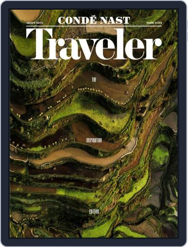 Conde Nast Traveler August 16th, 2018 Digital Back Issue Cover