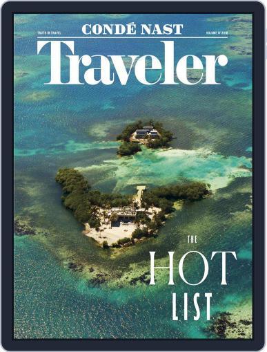 Conde Nast Traveler April 26th, 2018 Digital Back Issue Cover
