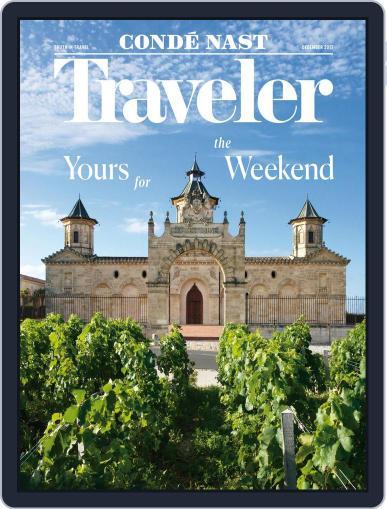 Conde Nast Traveler December 1st, 2017 Digital Back Issue Cover
