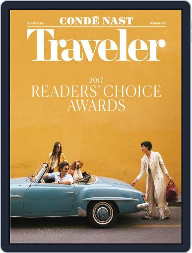 Conde Nast Traveler (Digital) November 1st, 2017 Issue Cover