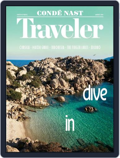 Conde Nast Traveler (Digital) August 1st, 2017 Issue Cover