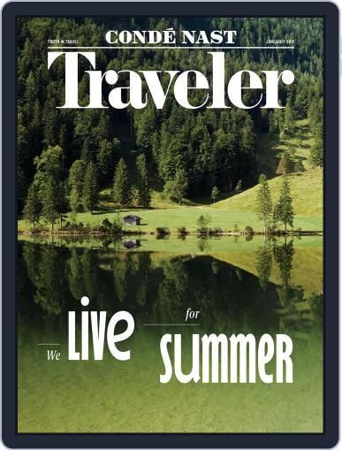 Conde Nast Traveler June 1st, 2017 Digital Back Issue Cover