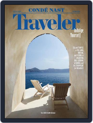 Conde Nast Traveler (Digital) December 1st, 2016 Issue Cover