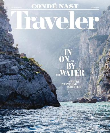 Conde Nast Traveler (Digital) July 12th, 2016 Issue Cover