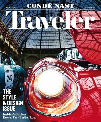 Conde Nast Traveler (Digital) August 18th, 2015 Issue Cover