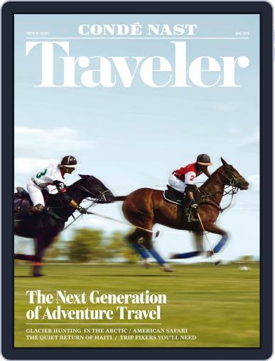 Conde Nast Traveler (Digital) June 1st, 2015 Issue Cover