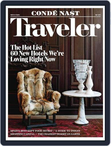 Conde Nast Traveler May 1st, 2015 Digital Back Issue Cover