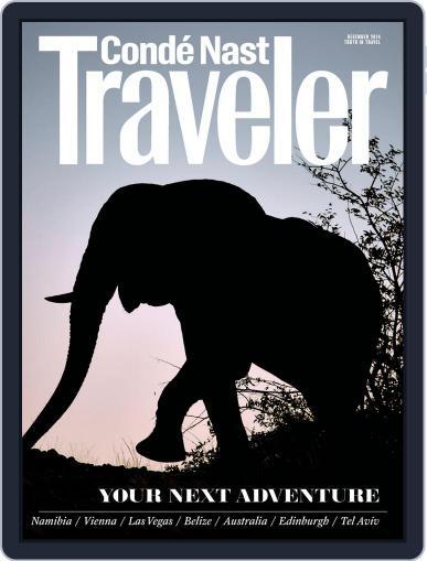 Conde Nast Traveler November 18th, 2014 Digital Back Issue Cover