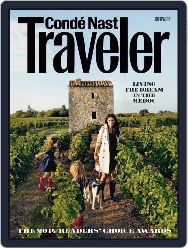Conde Nast Traveler (Digital) October 21st, 2014 Issue Cover
