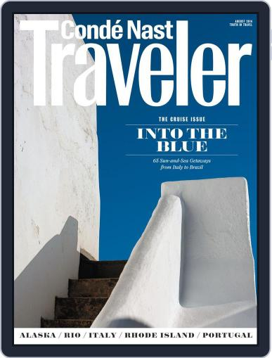 Conde Nast Traveler (Digital) July 22nd, 2014 Issue Cover