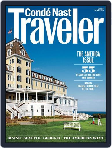 Conde Nast Traveler (Digital) June 24th, 2014 Issue Cover