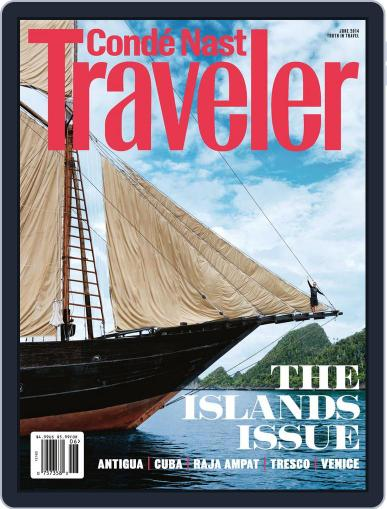 Conde Nast Traveler (Digital) May 20th, 2014 Issue Cover