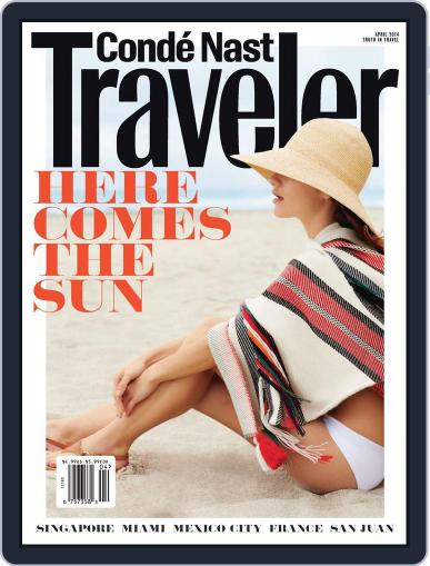 Conde Nast Traveler (Digital) March 25th, 2014 Issue Cover