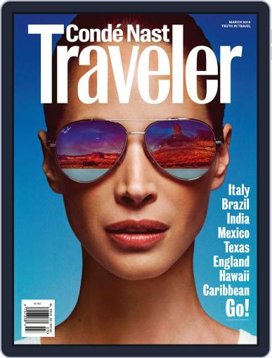 Conde Nast Traveler (Digital) February 18th, 2014 Issue Cover