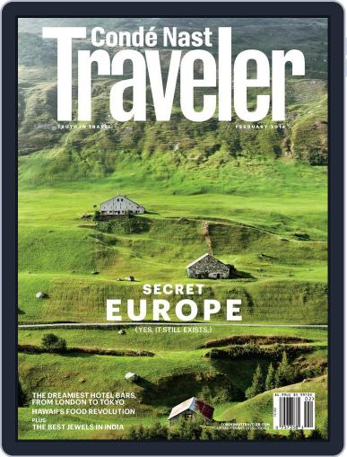 Conde Nast Traveler (Digital) January 21st, 2014 Issue Cover
