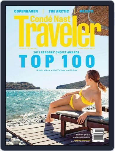 Conde Nast Traveler (Digital) October 22nd, 2013 Issue Cover