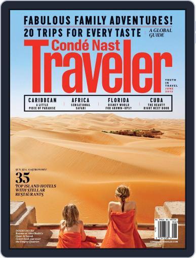 Conde Nast Traveler (Digital) May 22nd, 2013 Issue Cover