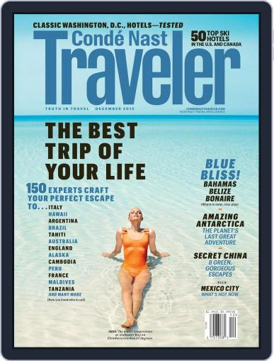 Conde Nast Traveler (Digital) January 28th, 2013 Issue Cover