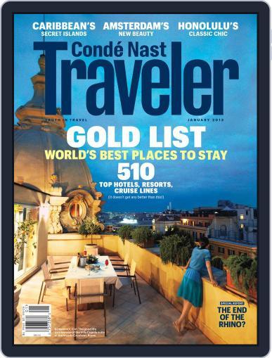 Conde Nast Traveler (Digital) December 21st, 2012 Issue Cover