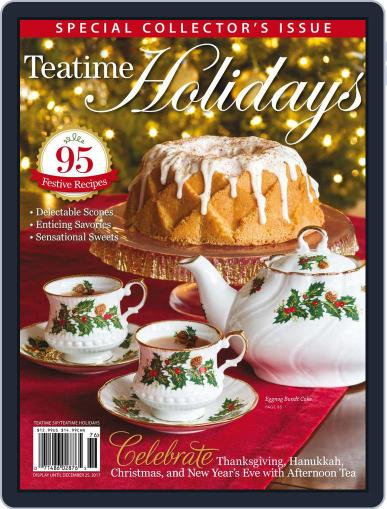 TeaTime December 25th, 2017 Digital Back Issue Cover