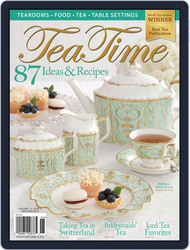TeaTime May 2nd, 2016 Digital Back Issue Cover