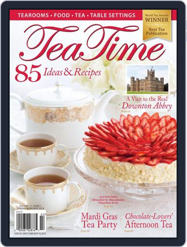 TeaTime January 2nd, 2016 Digital Back Issue Cover