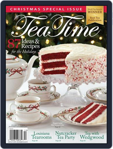 TeaTime November 2nd, 2015 Digital Back Issue Cover