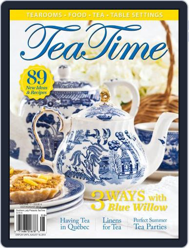 TeaTime (Digital) August 18th, 2014 Issue Cover