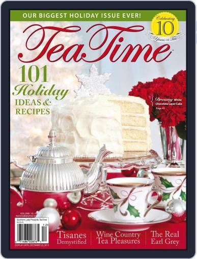 TeaTime (Digital) November 1st, 2013 Issue Cover