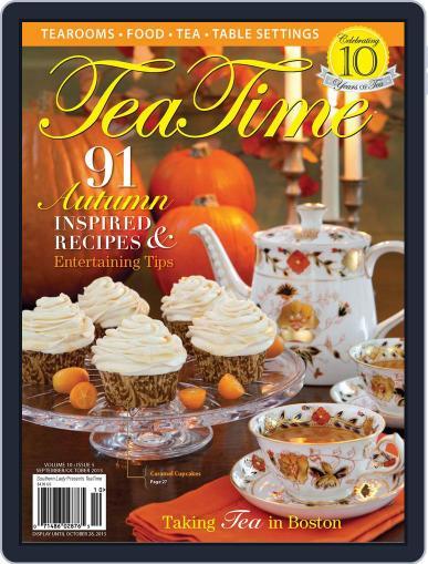 TeaTime September 1st, 2013 Digital Back Issue Cover