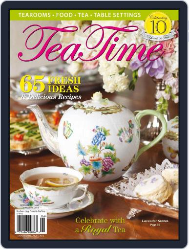 TeaTime (Digital) May 1st, 2013 Issue Cover