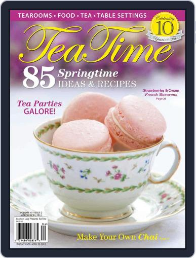 TeaTime March 1st, 2013 Digital Back Issue Cover