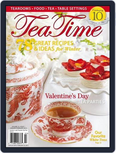 TeaTime (Digital) January 1st, 2013 Issue Cover