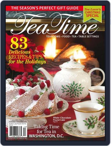 TeaTime (Digital) November 1st, 2012 Issue Cover