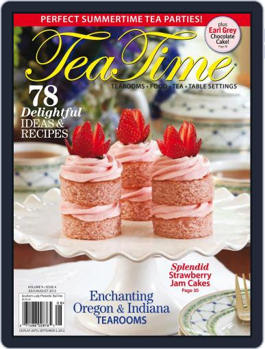 TeaTime (Digital) July 1st, 2012 Issue Cover