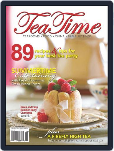 TeaTime (Digital) July 1st, 2009 Issue Cover
