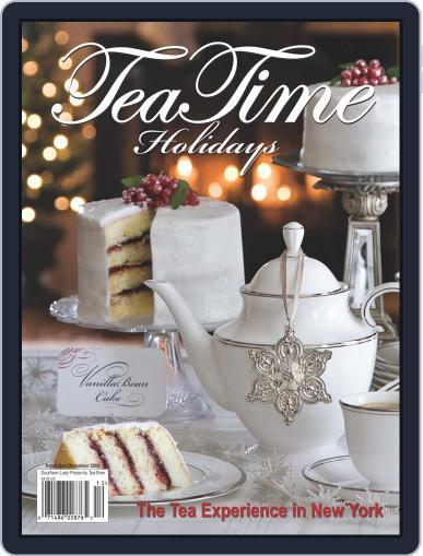 TeaTime (Digital) November 1st, 2008 Issue Cover