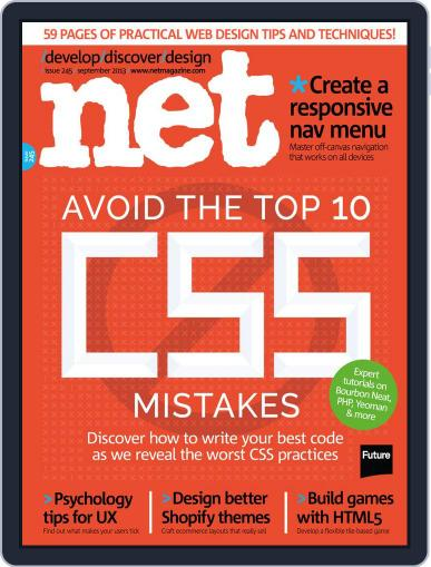 net August 12th, 2013 Digital Back Issue Cover