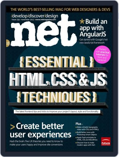 net (Digital) October 8th, 2012 Issue Cover