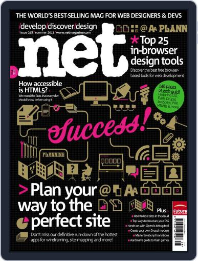 net July 18th, 2011 Digital Back Issue Cover