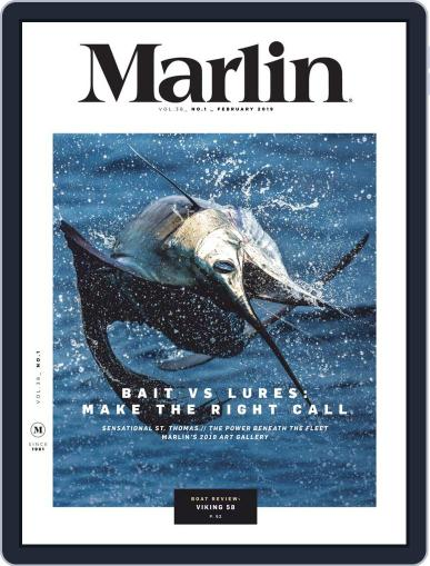 Marlin January 14th, 2019 Digital Back Issue Cover