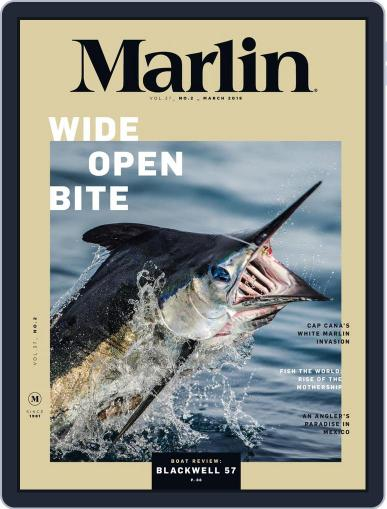 Marlin March 1st, 2018 Digital Back Issue Cover